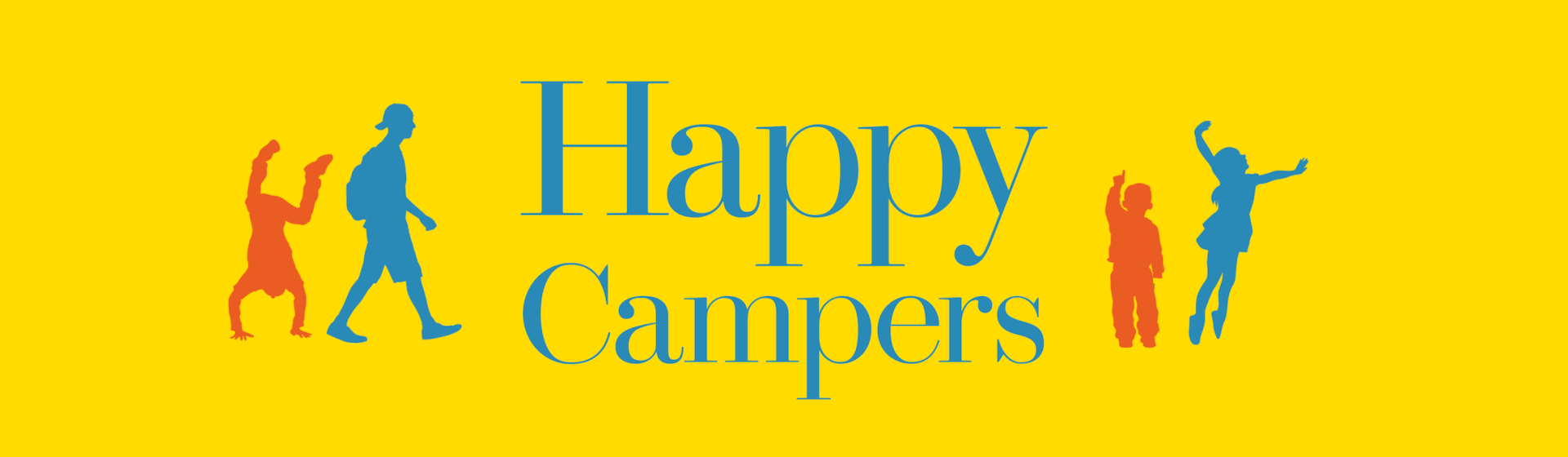 Happy Campers by Audrey Monke | Center Street